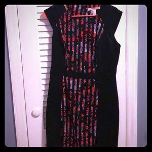Forever 21 Short Sleeve Back Zip Work Dress